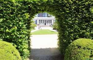Ботаническата градина в Брюксел