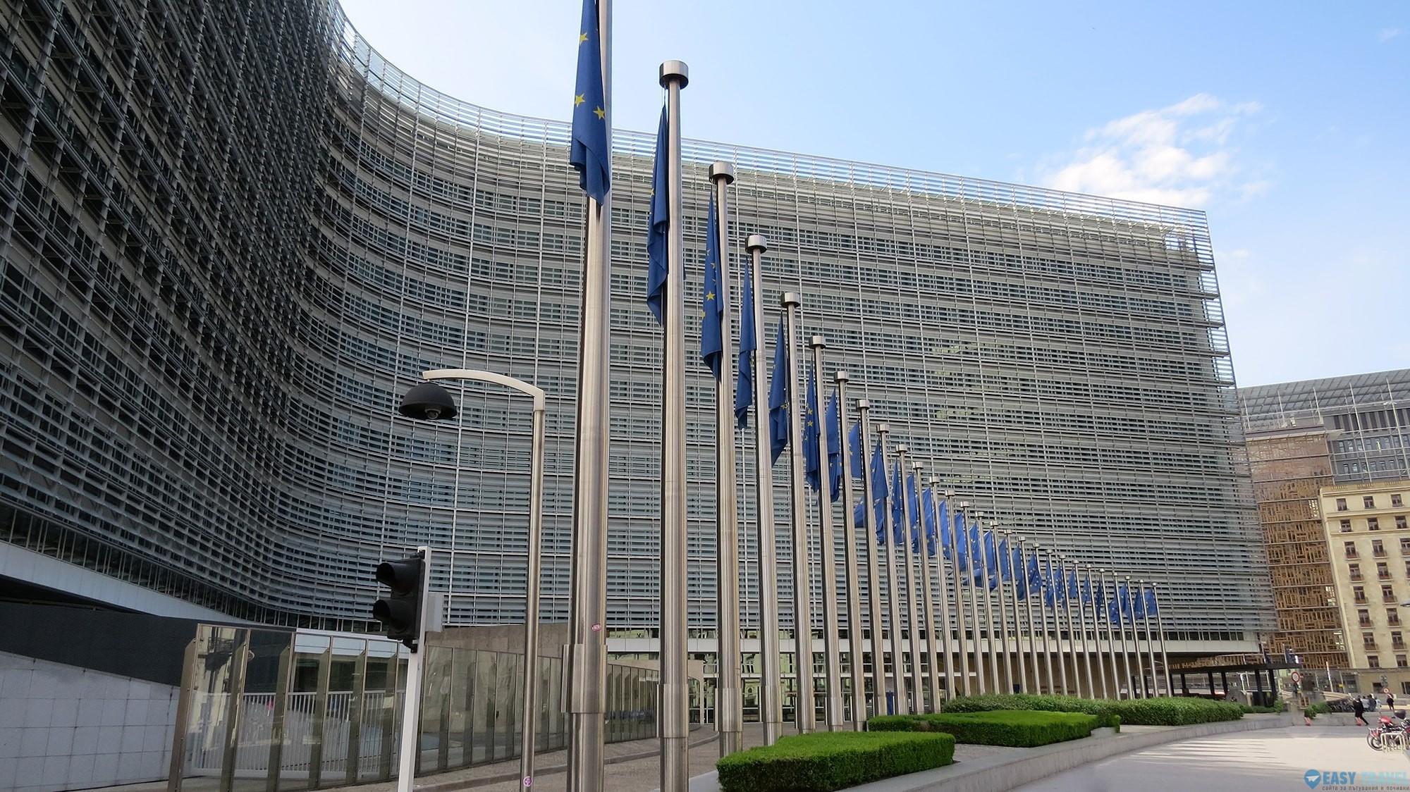 Европейският парламент в Брюксел
