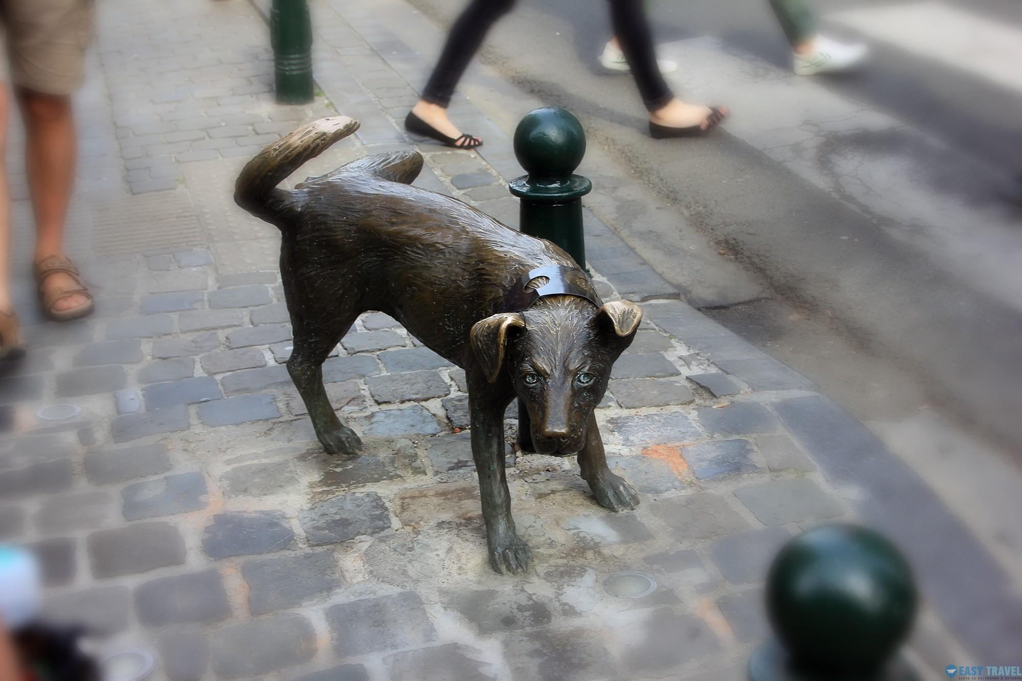 Пикаещото куче - Zinneke Pis