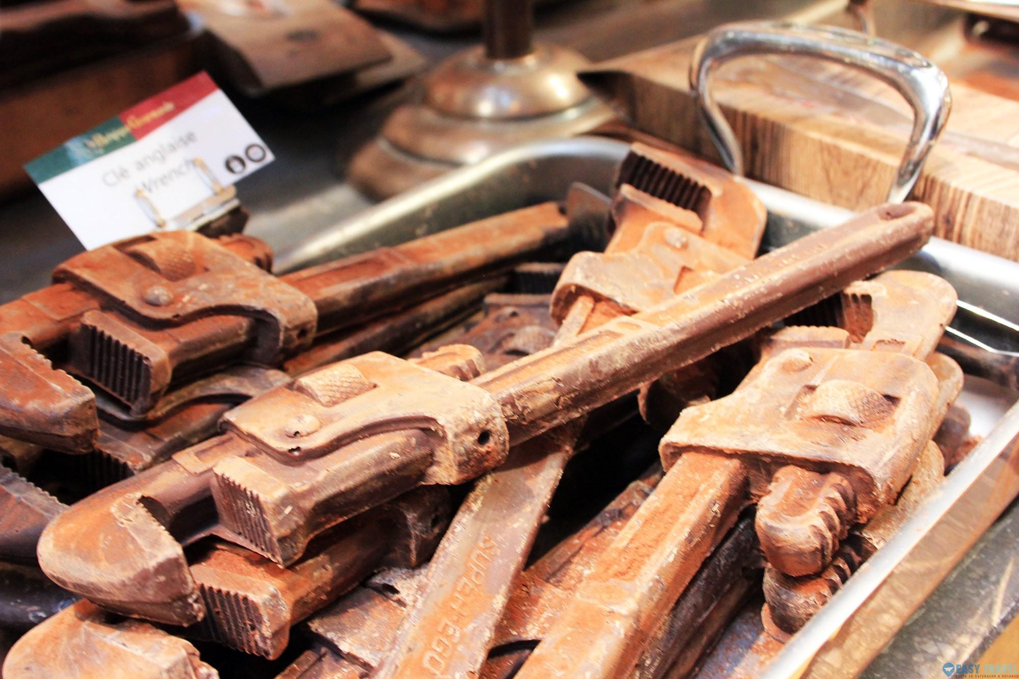 Фигури от белгийски шоколад