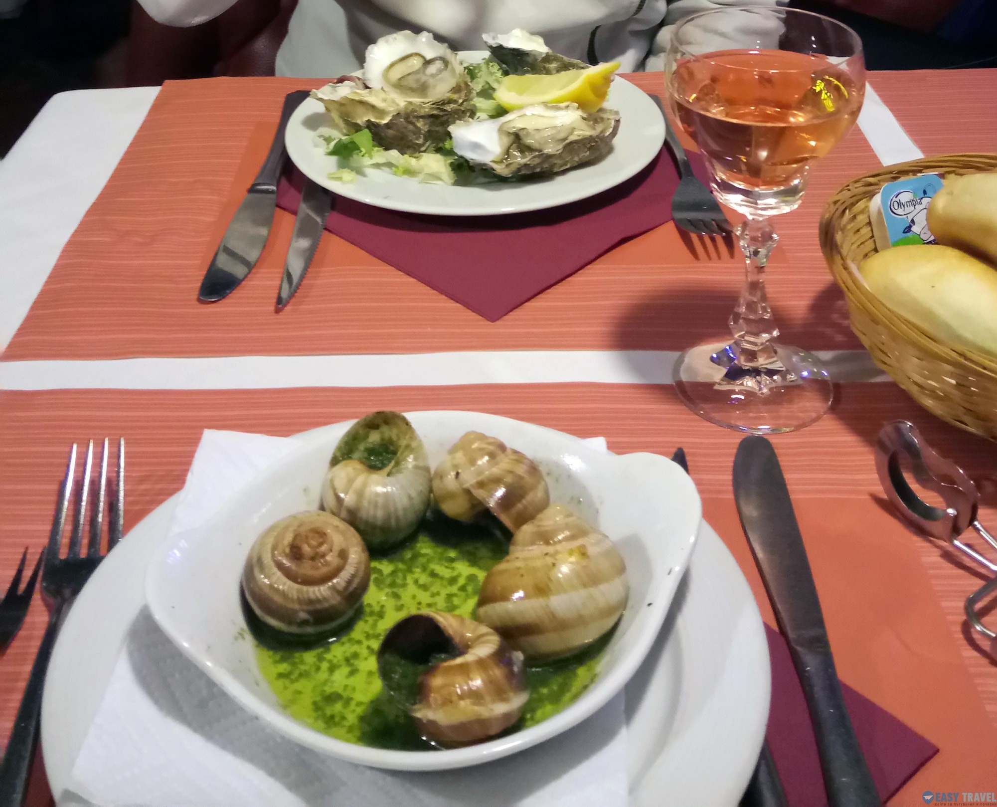 Храната в Брюксел
